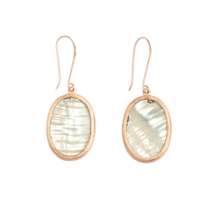Ajei Abalone Oval Earrings