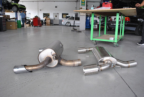 BMW F22 M235i Performance Rear Exhaust by Active Autowerke