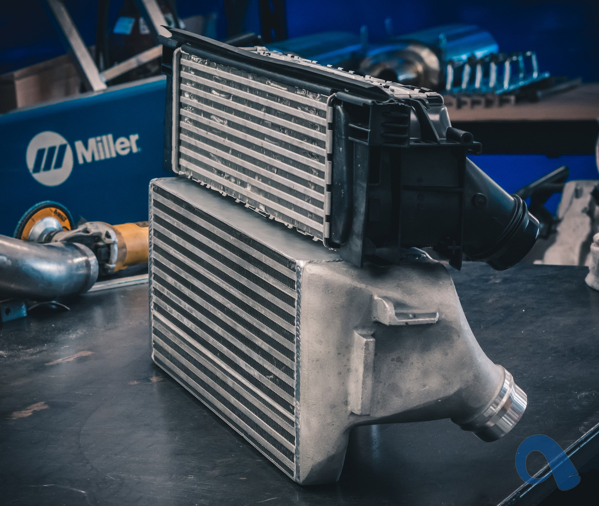 BMW F87 M2 intercooler