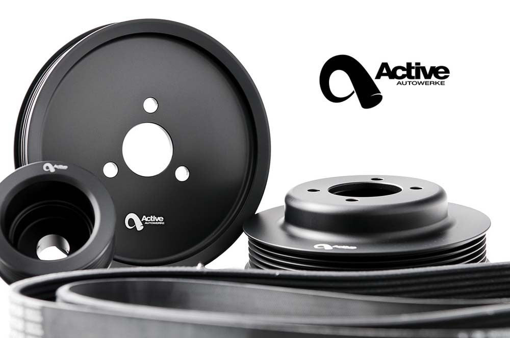 BMW E46 M3 Power Pulley KIT by BMW tuner, Active Autowerke