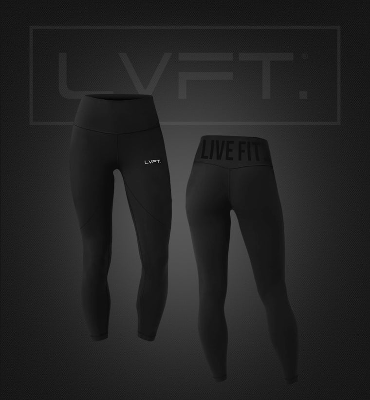 High Waisted Live Fit Leggings - Black