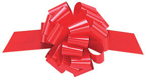 "Perfect Bow Imperial Red 5 1/2""-20 Loops hollywood - nyea's Party Store"