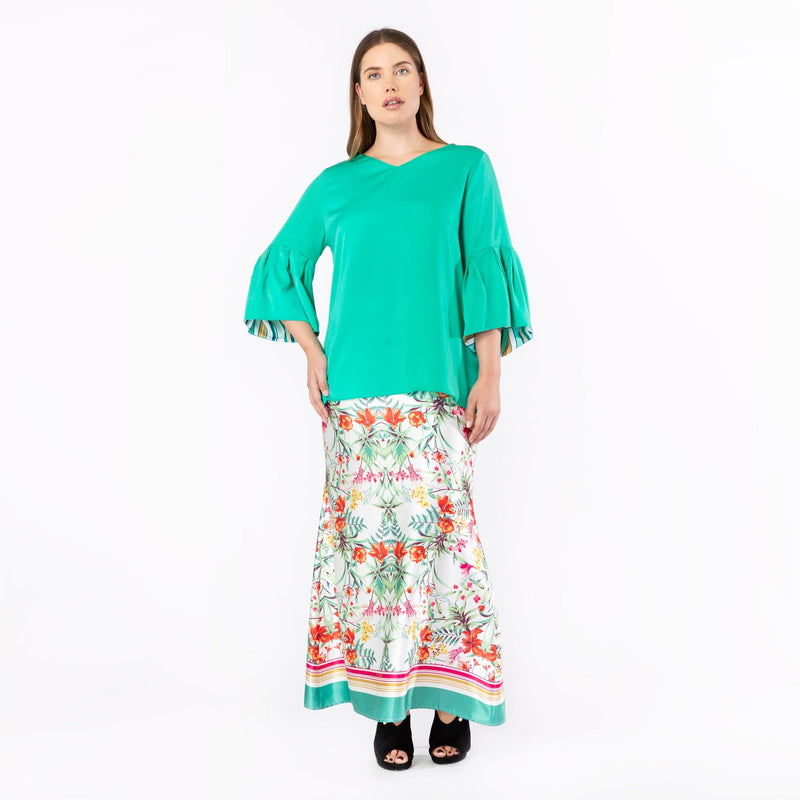 MS. READ | Puffed Sleeve Top | Raya Collection 2019, Baju Kurung, Fesyen Raya 201...