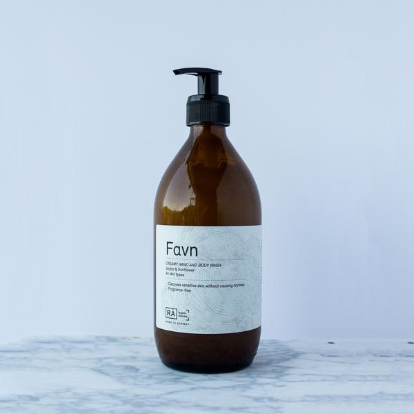 RÅ Favn Creamy Hand and Body Wash - Norway Designs
