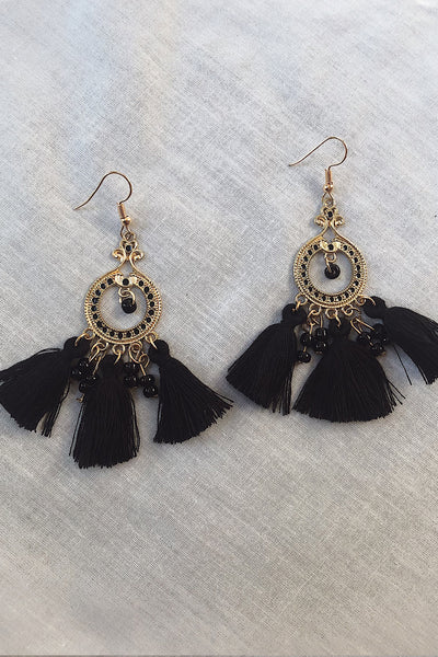 Midsummer Earrings - Black