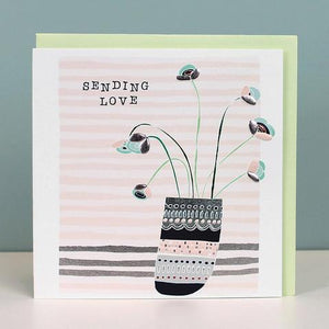 Sending Love thinking of you card