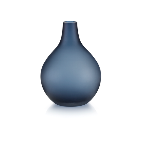 Sansto Vase, Dark Blue, Medium