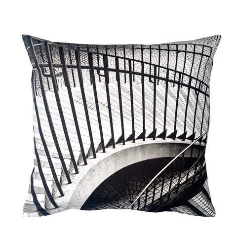 Mosaic Stairs Decorative Pillow