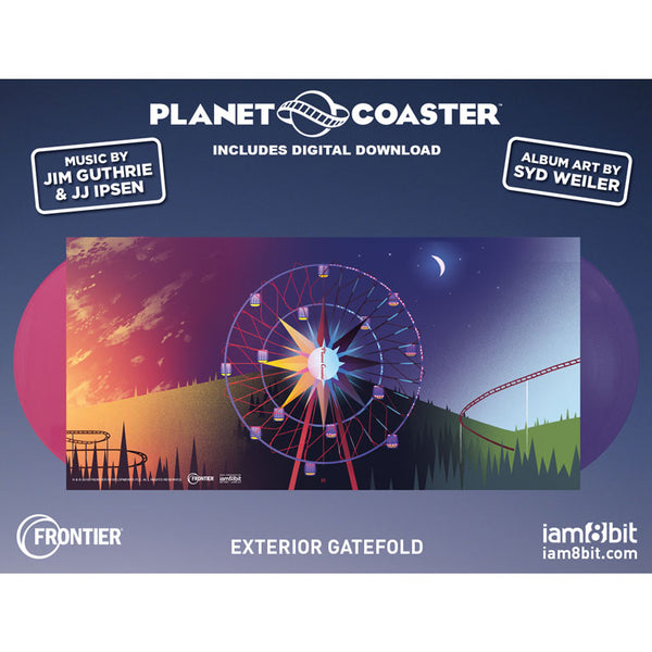 Planet Coaster Soundtrack - 2xLP - iam8bit