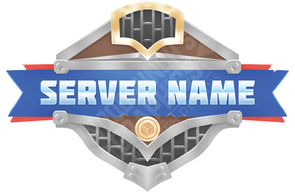 Steel Shield - Minecraft Server Logo