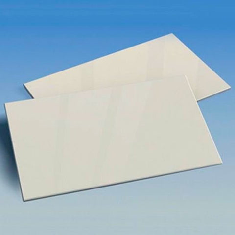 X0112 Pla Plate Single 1.2mm WHITE 200mm x 250mm
