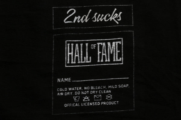 Hall of Fame | G Tee - Black
