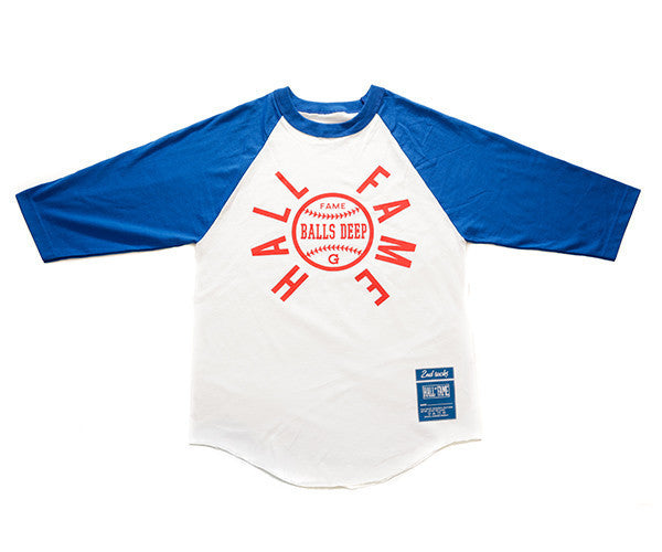 Hall of Fame | G Raglan Tee - Royal Blue