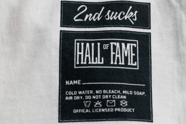 Hall of Fame | G Raglan Tee - Navy