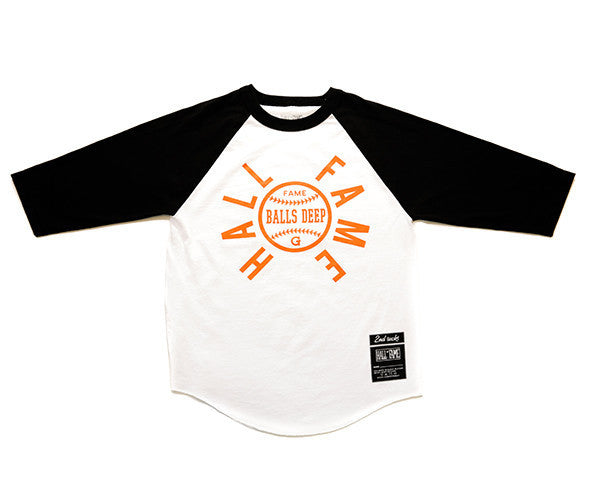 Hall of Fame | G Raglan Tee - Orange