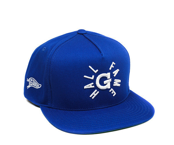 Hall of Fame | G Snapback - Royal Blue