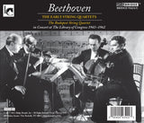 Beethoven: The Early Quartets; Budapest String Quartet <BR> BRIDGE 9342A/B