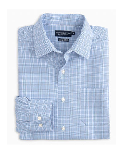 Southern Tide - Marsh Plaid IC Performance L/S Shirt