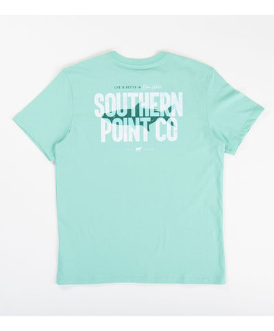 Southern Point - Silhouette Tarpon Signature Tee