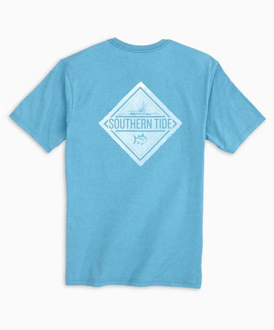 Southern Tide - Badge Skipjack Heather Tee