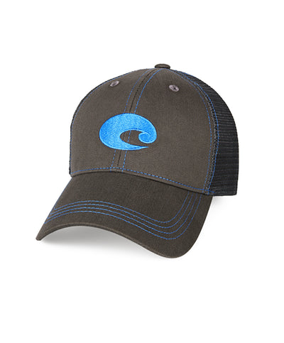 Costa - Neon Trucker Graphite Twill Hat