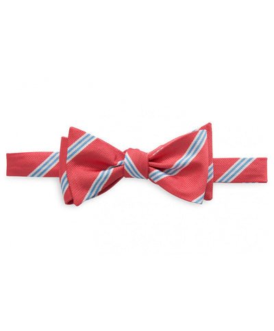Southern Tide - Heritage Stripe Bow Tie - Coral Beach