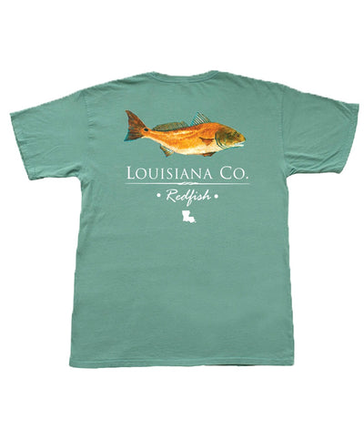 The State Company - Louisiana Redfish Tee