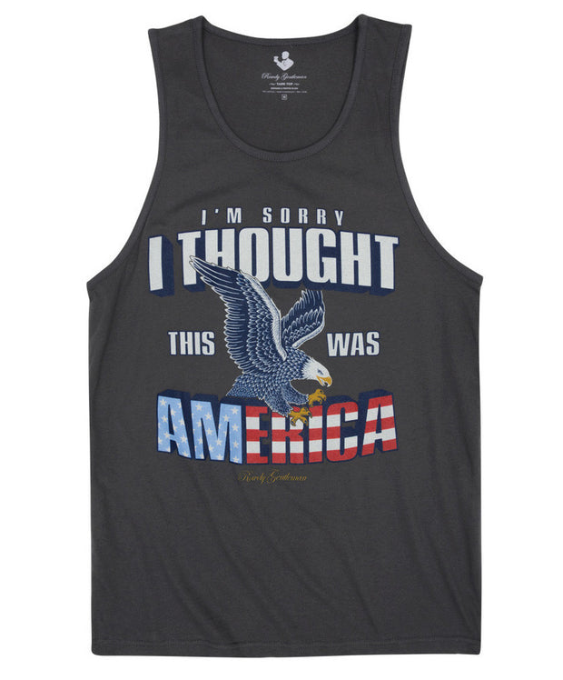 Rowdy Gentleman - I'm Sorry Tank Top