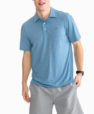 Southern Tide - Fantail Performance Striped Polo