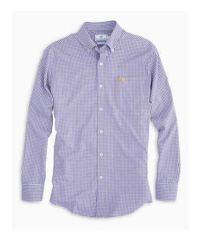 Southern Tide - Gameday Gingham Intercoastal Performance Shirt