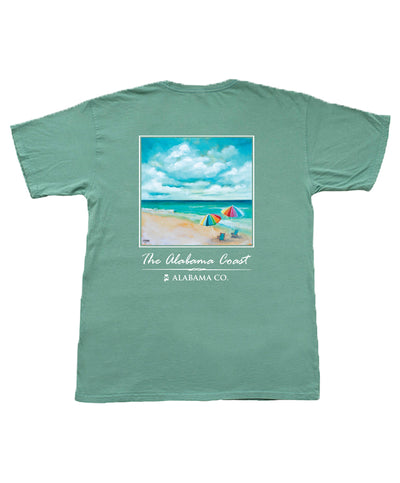The State Company - AL Coastal Scene Tee