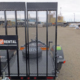 Trailer Ramp - 4'x7' Home Depot Flatbed (Passenger Side w/o Decal Plate)