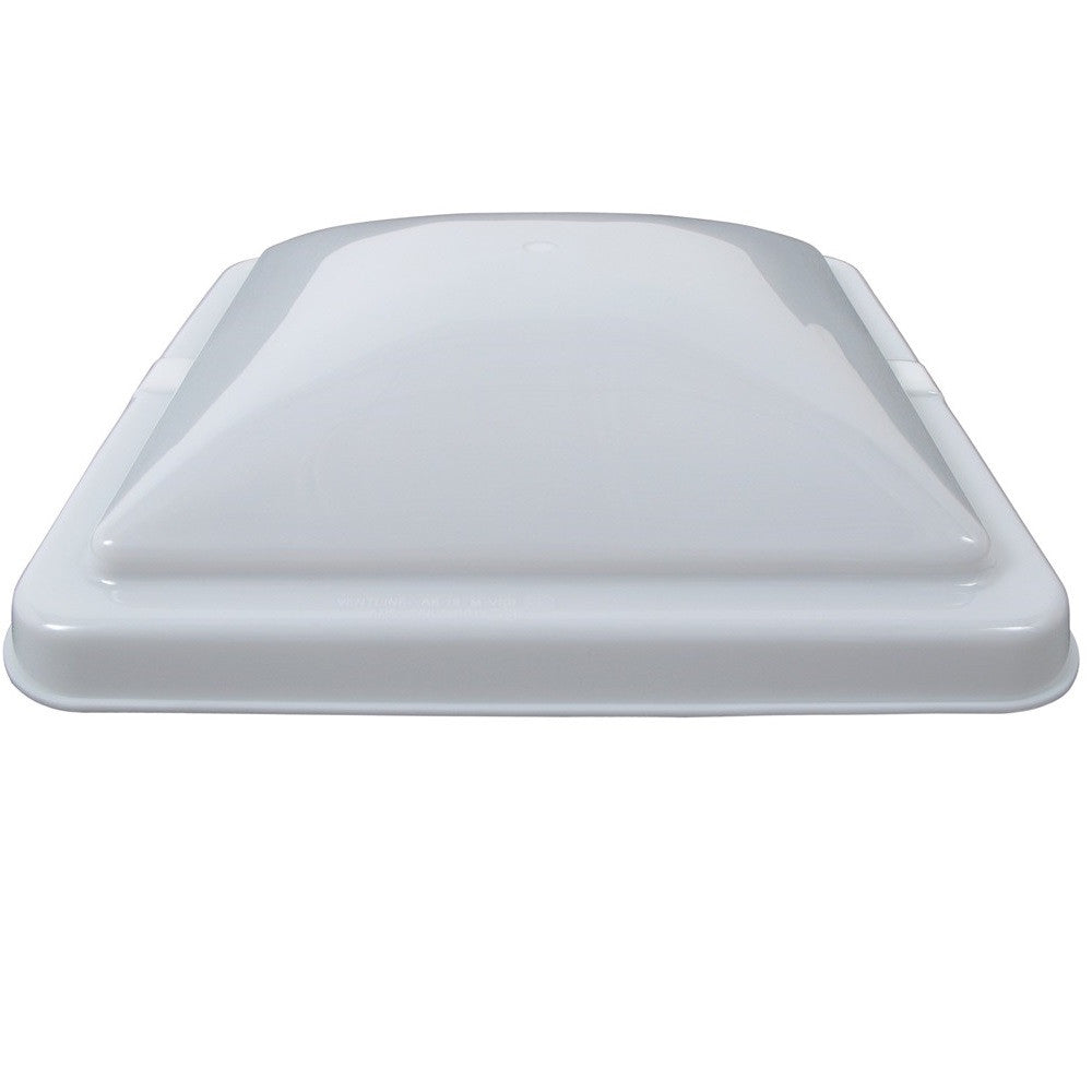 Vent Cover for Ventline Old Style Rounded Dome Trailer Roof Vents - White
