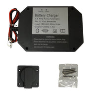 Panel Mount Battery Charger - 1.5 Amps