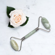 Dual-Action Jade Facial Roller