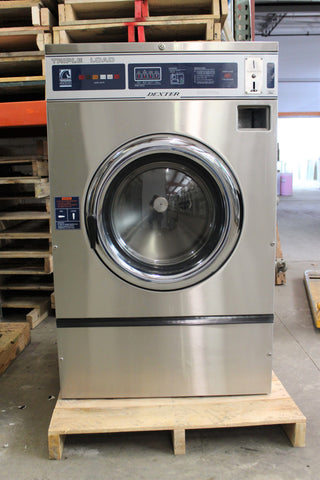 Used 50lb Huebsch Coin Operated Washer Hc50bc2 Midwest
