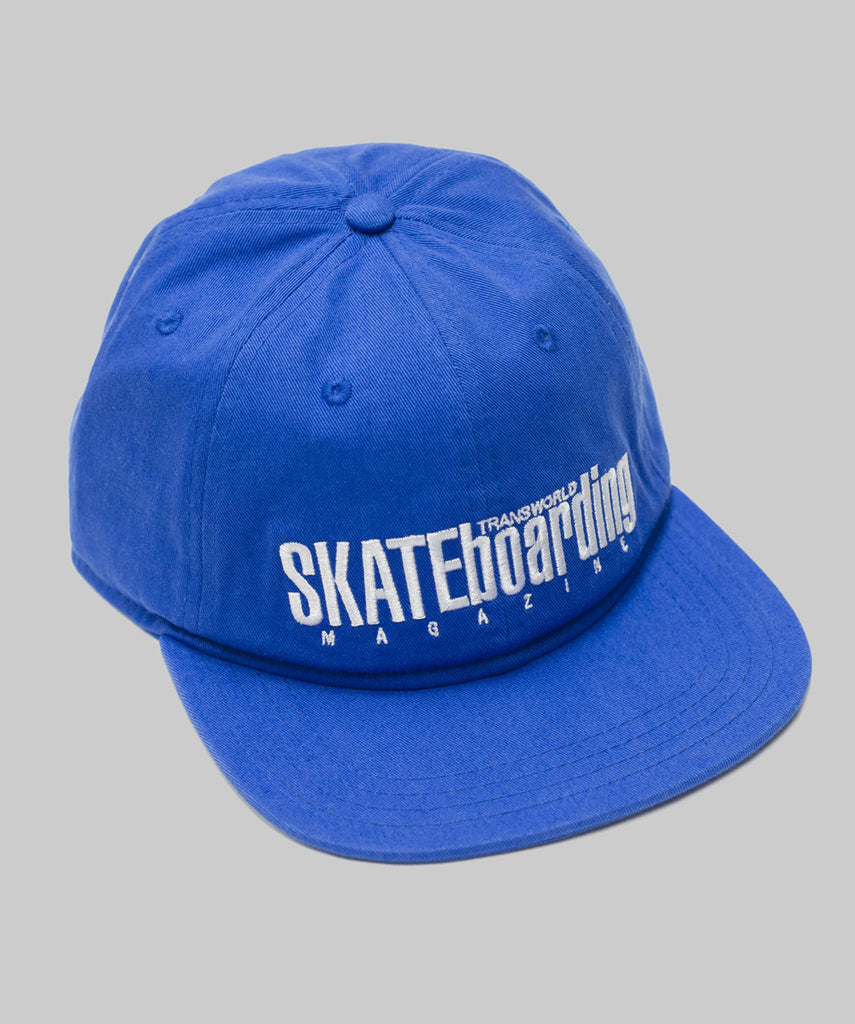 TransWorld Classic Magazine Hat - Blue