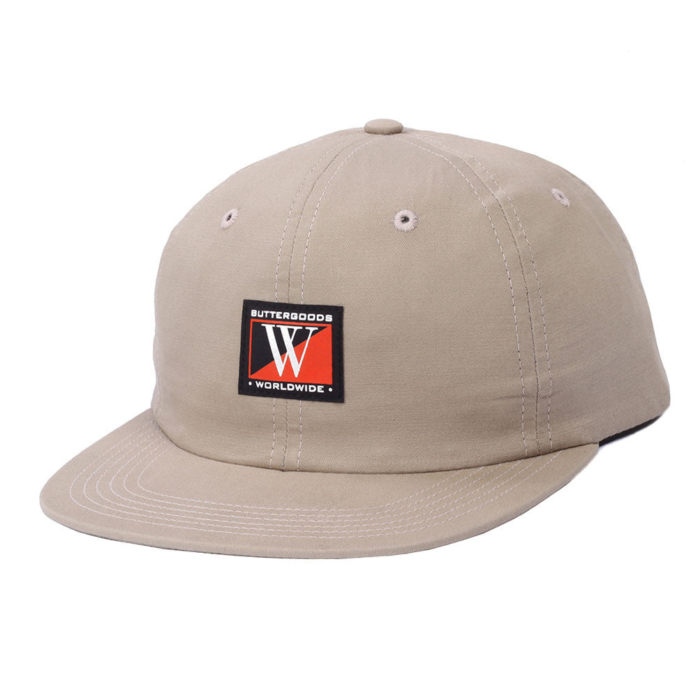 Butter Dub 6 Panel Polo Hat - Khaki