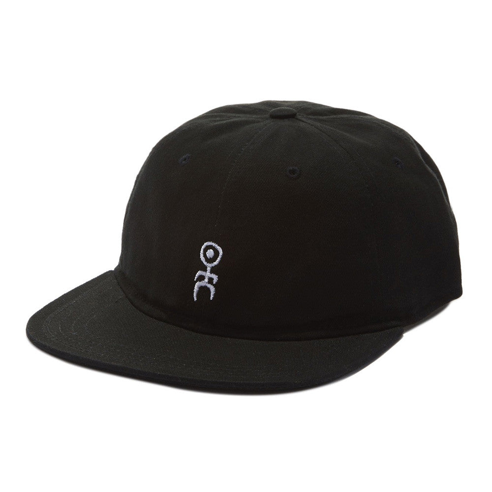 "Format ""Einstein"" II Unstructured Polo Hat - Black"