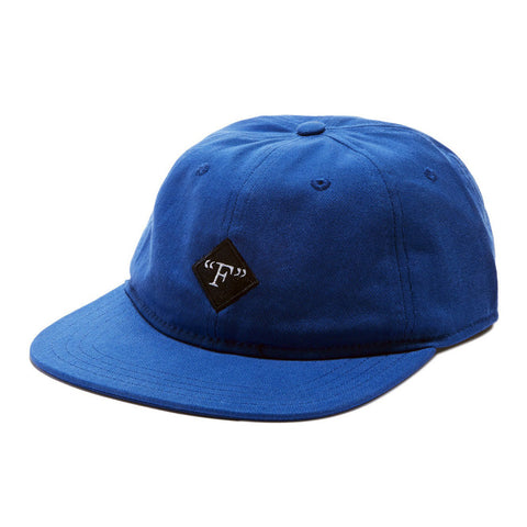 Format Fields Unstructured Strapback Hat - Blue