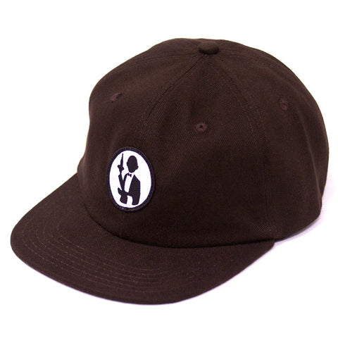 Passport No Service 6 Panel Strapback Cap - Brown