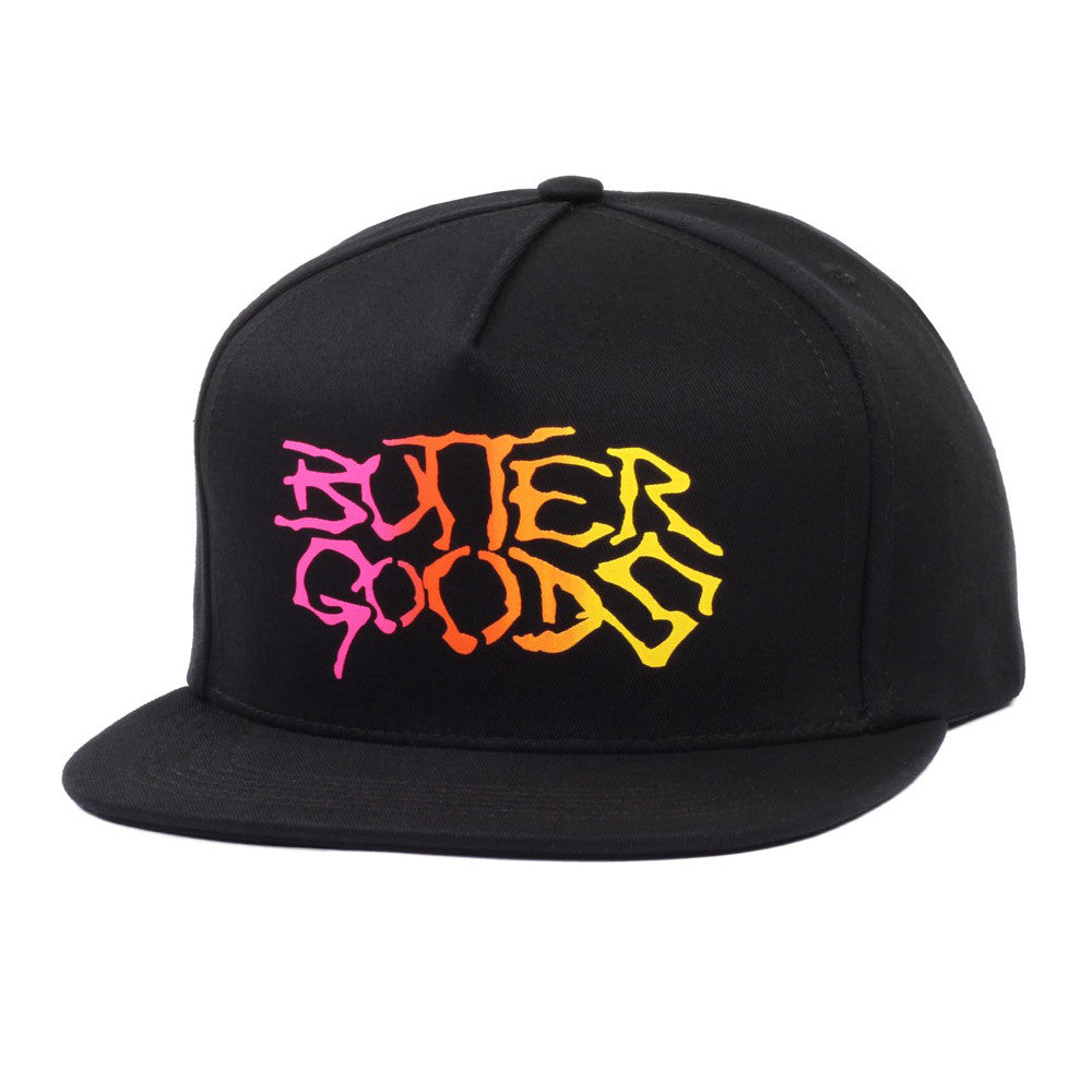 Butter Goods Brigade Snapback Hat - Black