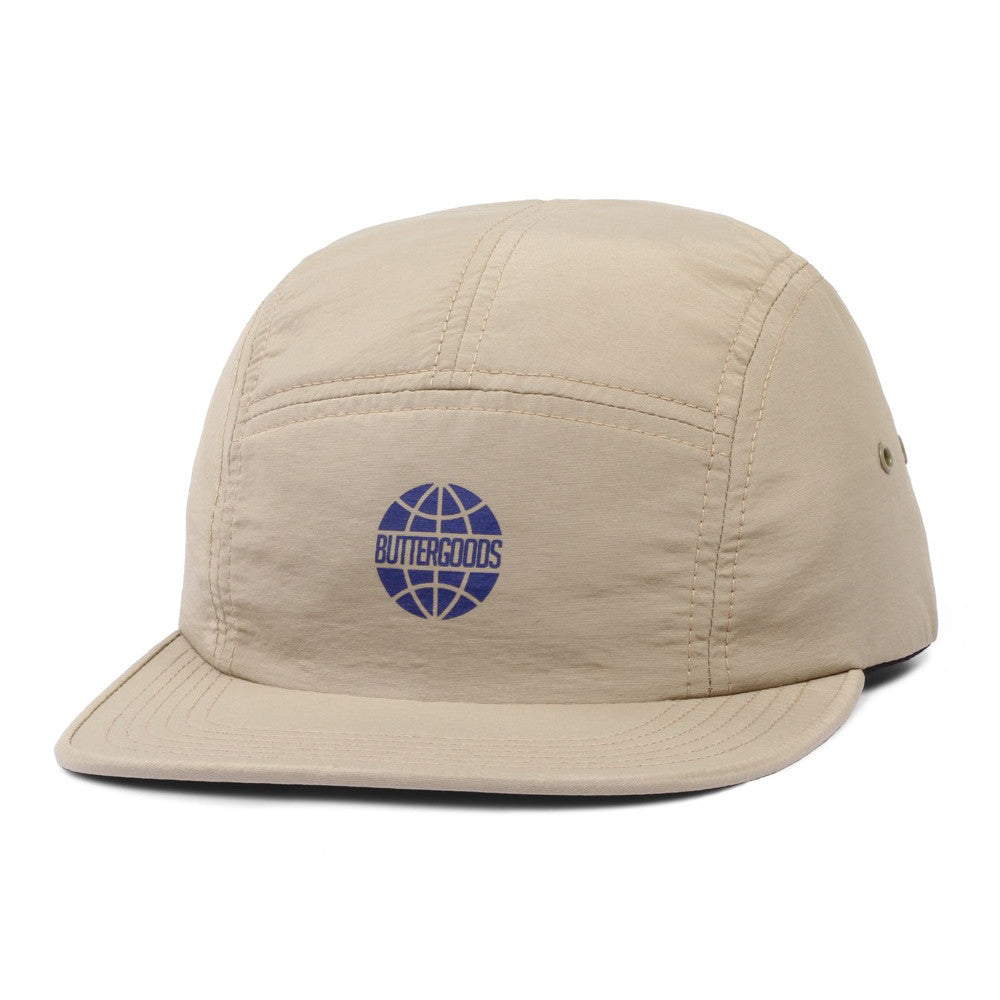 Butter Minimal Worldwide Camp Cap - Khaki
