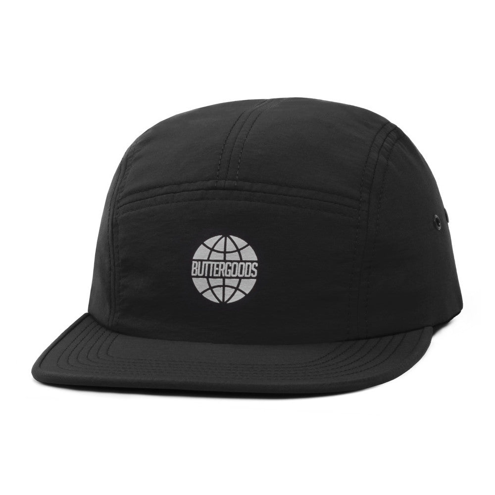 Butter Minimal Worldwide Camp Cap - Black