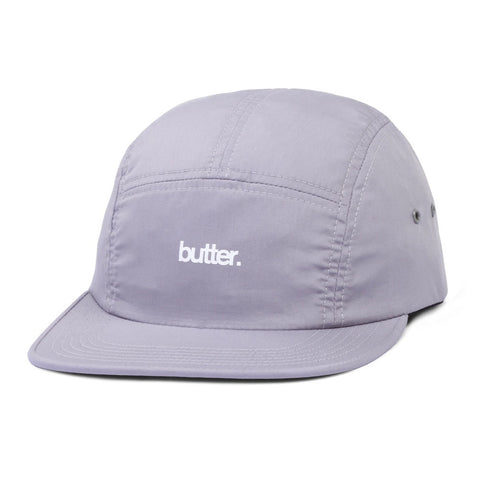 Butter Goods Minimal OG Logo Camp Cap - Grey
