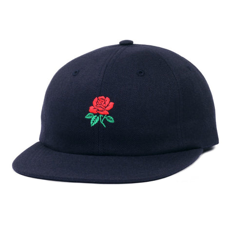 Butter Goods Rose 6 Panel Camp Hat - Navy