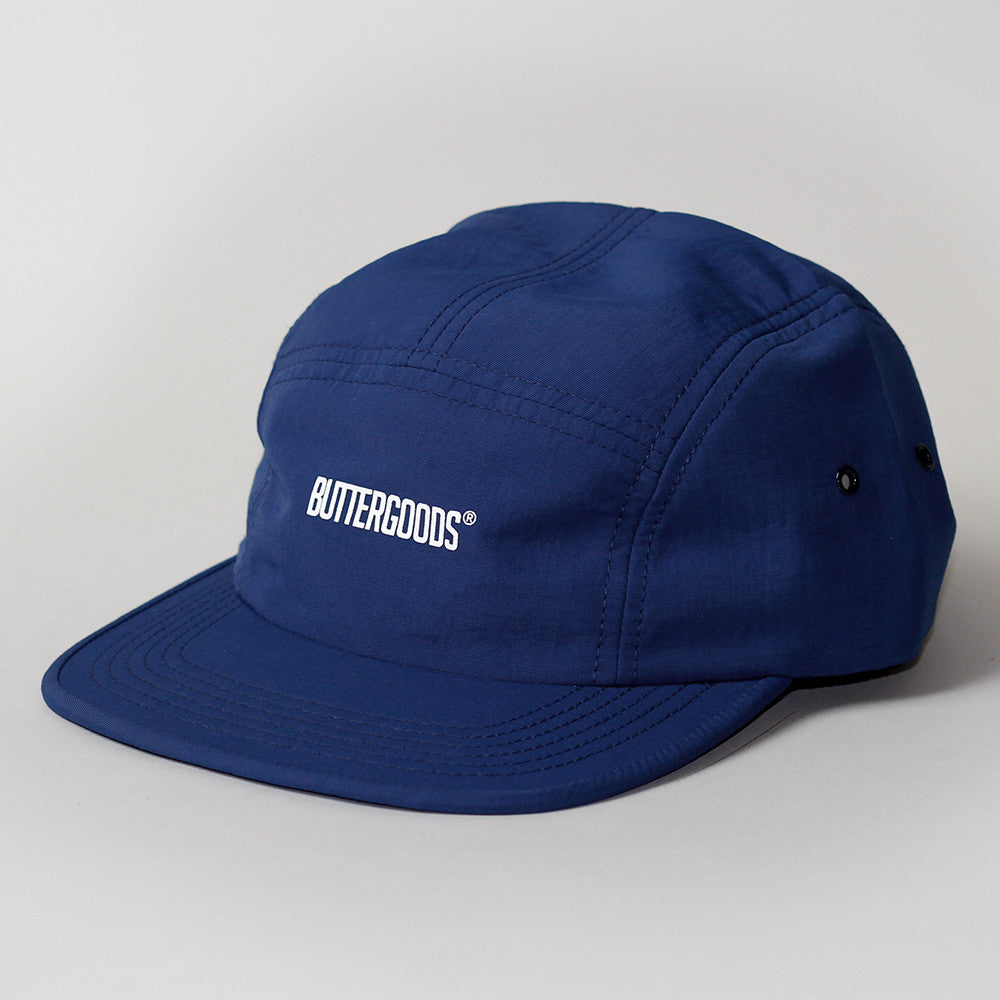 Butter Goods Registered 5 Panel Hat - Navy