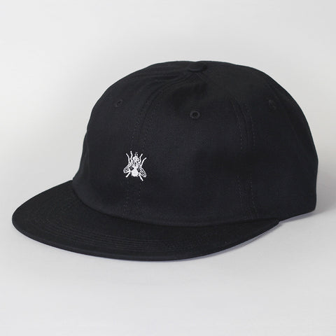 Butter Goods Fly 6 Panel Polo Hat - Black