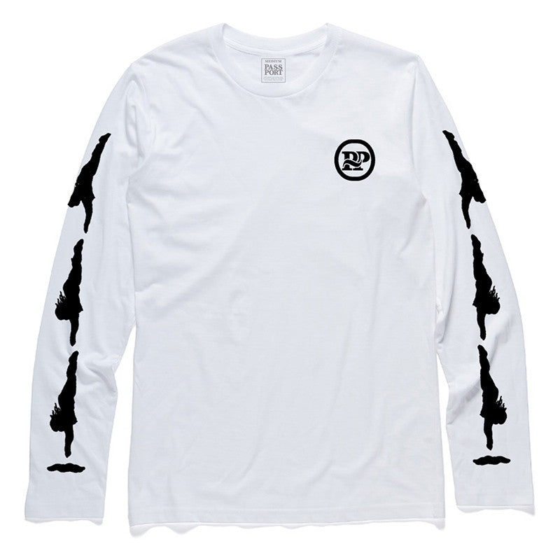 Pass Port Diving P~P Lady Long Sleeve T-shirt - White