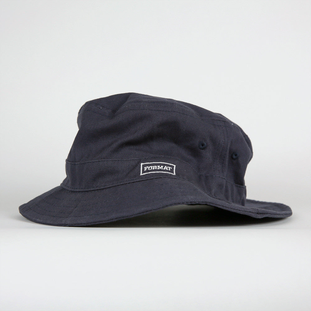"Format ""Buck It"" Bucket Hat - Navy"